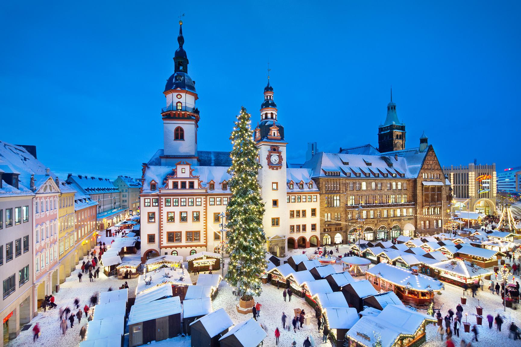 Christmas Market   City of Chemnitz